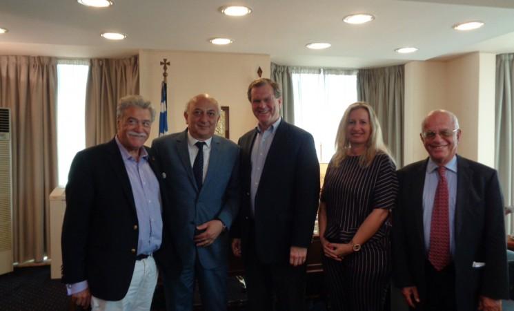 Συνάντηση Υφυπουργού Εξωτερικών κ. Αμανατίδη με αντιπροσωπεία της Αμερικανικής Εβραϊκής Επιτροπής (AJC) και το Προεδρείο του ΚΙΣΕ.