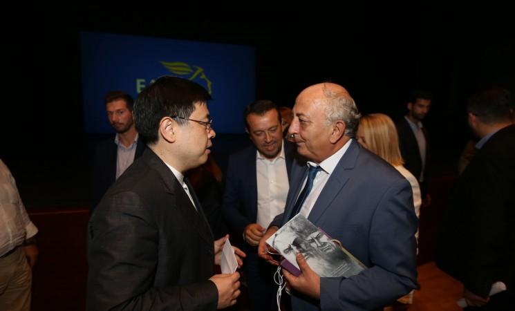 Στην εκδήλωση των Ελληνικών Ταχυδρομείων με θέμα: «2017 - Έτος Πολιτιστικών Ανταλλαγών & Συνεργασίας των Πολιτιστικών Βιομηχανιών Ελλάδας - Κίνας».