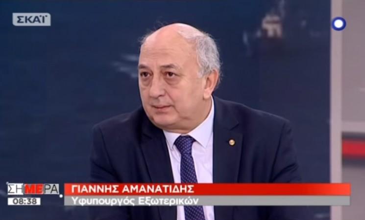 Γ. Αμανατίδης: Διαζύγιο της Τουρκίας από τον κοινό νου και τη γεωγραφία
