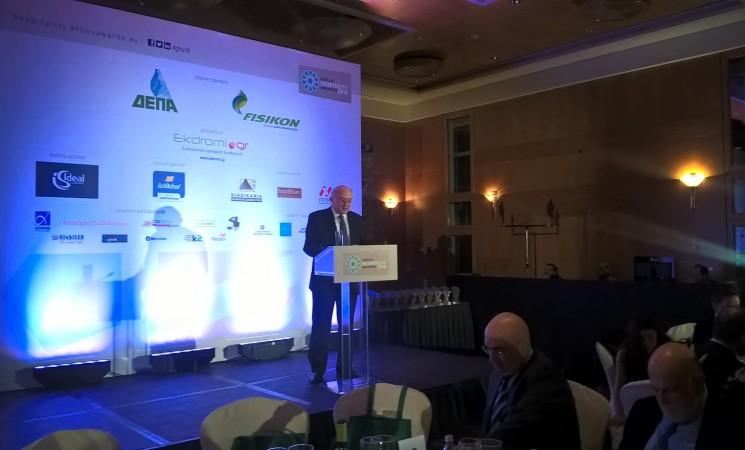 Χαιρετισμός του Υφυπουργού Εξωτερικών κ. Ιωάννη Αμανατίδη  στην εκδήλωση «Greek Hospitality Awards»