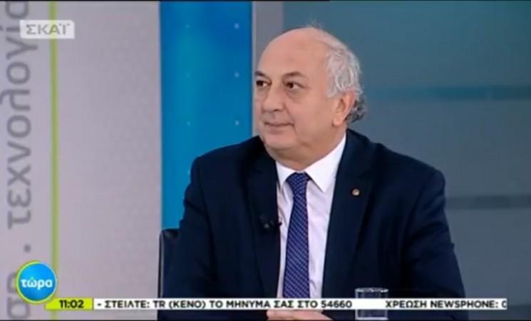 Ο Υφυπουργός Εξωτερικών Γιάννης Αμανατίδης στην εκπομπή του ΣΚΑΙ - Τώρα 08 Μαρτίου 2018