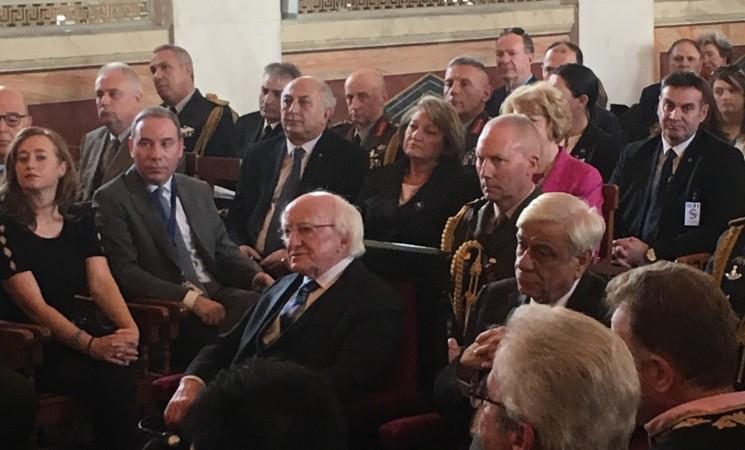 Αναγόρευση Προέδρου Ιρλανδίας κ. Michael D. Higgins σε Επίτιμο Διδάκτορα ΕΚΠΑ