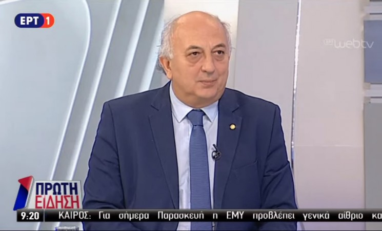 """Ο Υφυπουργός Εξωτερικών Γιάννης Αμανατίδης στην εκπομπή """"Πρώτη Είδηση"""" της ΕΡΤ1 - 27 Απριλίου 2018"""