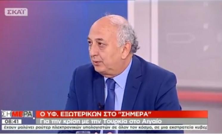 Ο Υφυπουργός Εξωτερικών Γιάννης Αμανατίδης στο ΣΚΑΪ 17 Απριλίου 2018