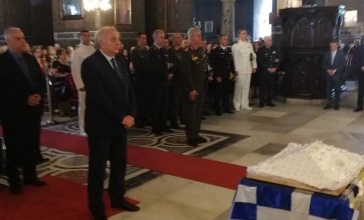 Εκπρόσωπος του πρωθυπουργού και της κυβέρνησης στην επιμνημόσυνη δέηση, στο ναό της του Θεού Σοφίας στη Θεσσαλονίκη, για την επέτειο μνήμης της γενοκτονίας των Ελλήνων του Πόντου.
