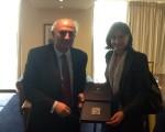 Συνάντηση Υφυπουργού Εξωτερικών, Γιάννη Αμανατίδη με την Πρέσβυ της Βουλγαρίας, κ. Emilia Ivanova Kraleva