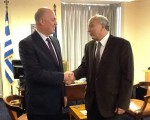 Συνάντηση Υφυπουργού Εξωτερικών, Γιάννη Αμανατίδη με τον Πρέσβυ της Τουρκίας στην Ελλάδα, κ. Kerim Uras