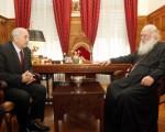 Συνάντηση Υφυπουργού Εξωτερικών, Γιάννη Αμανατίδη με τον Αρχιεπίσκοπο Αθηνών, κ.κ. Ιερώνυμο