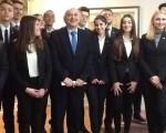 Επίσκεψη μαθητριών και μαθητών από το εκπαιδευτικό πρόγραμμα «Harvard Model United Nations»