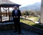 Επίσκεψη Υφυπουργού Εξωτερικών, κ. Γιάννη Αμανατίδη στον Άγιον Όρος