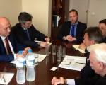 Συνάντηση Υφυπουργού Εξωτερικών, κ. Γιάννη Αμανατίδη με τον Πρόεδρο της Διεθνούς Επιτροπής του Ερυθρού Σταυρού, κ. Peter Maurer