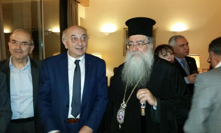 Συνάντηση με τον Μητροπολίτη Φιλαδελφείας, Βενέδικτο και το Σύλλογο Ελληνίδων Ιορδανίας, στο Αμμάν.