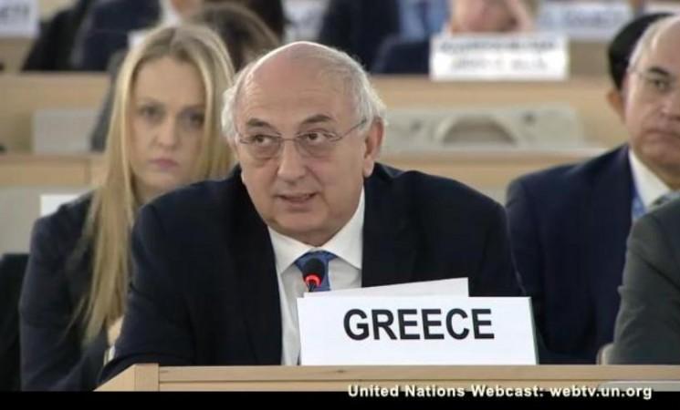 Γ.Αμανατίδης: Δέσμευση της Ελλάδας να συμβάλλει εποικοδομητικά σε μία παγκόσμια συμμαχία με στόχο την εξάλειψη του βίαιου εξτρεμισμού