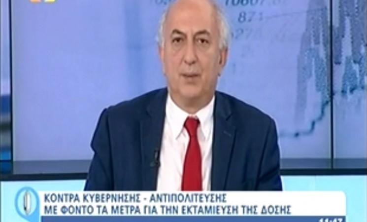 Ο Υφυπουργός Εξωτερικών Γιάννης Αμανατίδης στην Εκπομπή LiveU - 8 Ιουνίου 2016