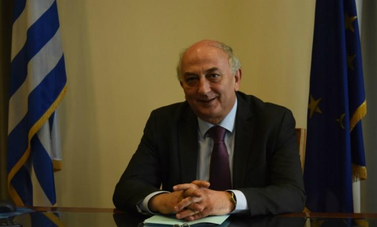 Ο Υφυπουργός Εξωτερικών Γιάννης Αμανατίδης στον ραδιοφωνικό σταθμό Alpha 26 Ιανουαρίου 2017
