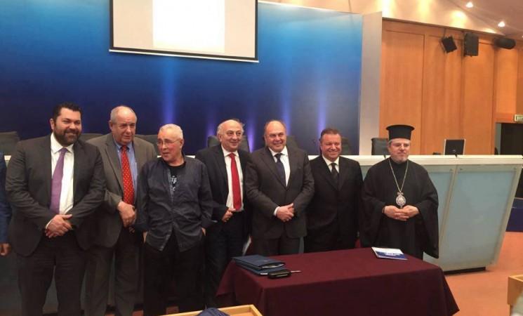 Χαιρετισμός Υφυπουργού Εξωτερικών, Γιάννη Αμανατίδη στην εκδήλωση υπογραφής Μνημονίου Συνεργασίας μεταξύ του Ελληνικού Ιδρύματος Πολιτισμού και των Ελληνικών Κοινοτήτων Αλεξανδρείας και Καΐρου