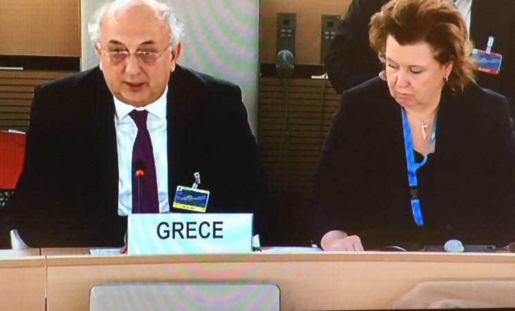 Αμανατίδης: «Η Ελλάδα δικαιούται να είναι ο παίκτης κλειδί στις διαδικασίες οικοδόμησης της ειρήνης»