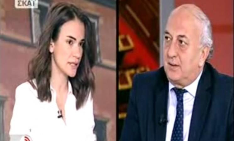 Ο υφυπουργός Εξωτερικών Γιάννης Αμανατίδης στο ΣΚΑΪ και την εκπομπή Τώρα με την Δημοσιογράφο Άννα Μπουσδούκου - 27 Μαρτίου 2017