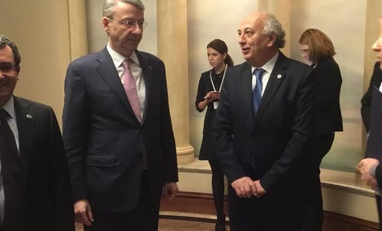 Συνάντηση με τον Υφυπουργό Εξωτερικών της Ρουμανίας, στο Ζάγκρεμπ
