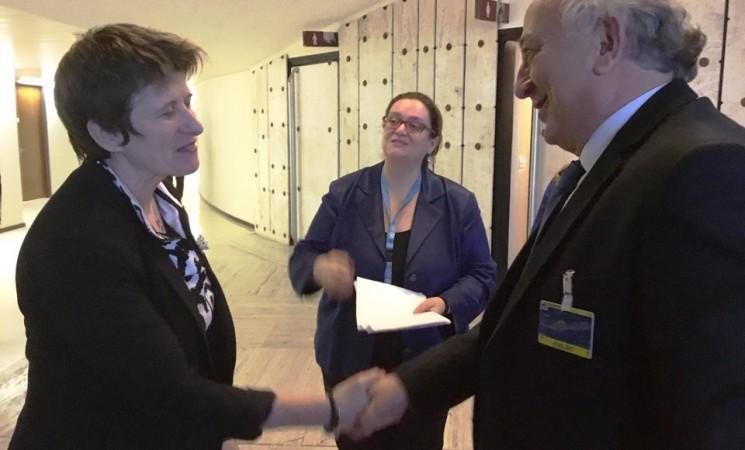 Συνάντηση Υφυπουργού Εξωτερικών, Γιάννη Αμανατίδη με την Αναπληρώτρια Ύπατη Εκπρόσωπο για τα Ανθρώπινα Δικαιώματα, κα Kate Gilmore