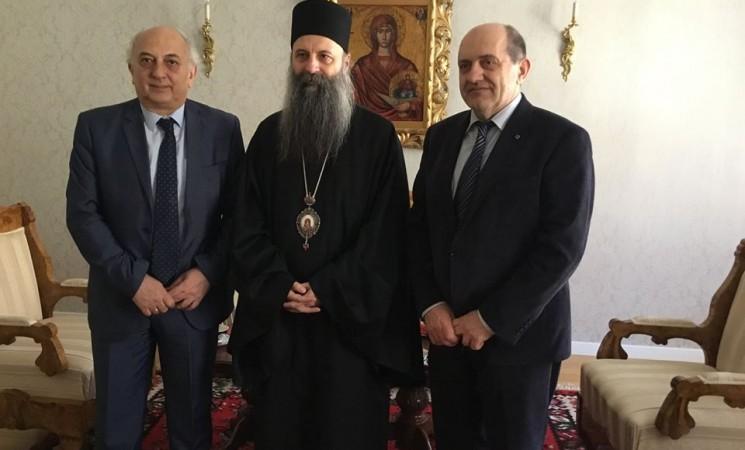 Επίσκεψη Υφυπουργού Εξωτερικών, Γιάννη Αμανατίδη στην Μητρόπολη Ζάγκρεμπ και Λιουμπλιάνας (Ζάγκρεμπ)