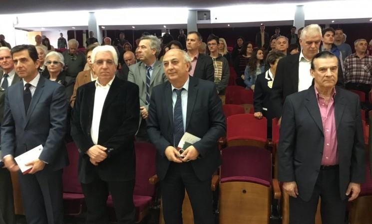 Στην εκδήλωση του Αριστοτέλειου Πανεπιστημίου Θεσσαλονίκης, για την εθνική επέτειο της 25ης Μαρτίου