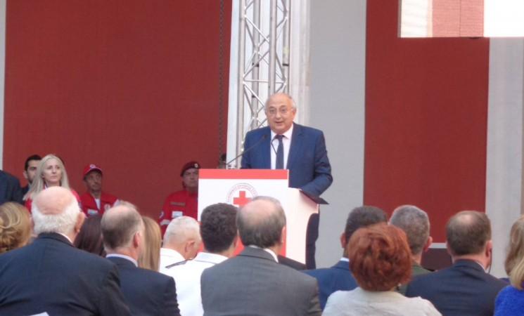 Χαιρετισμός Υφυπουργού Εξωτερικών, Γιάννη Αμανατίδη για την Παγκόσμια Ημέρα του Ερυθρού Σταυρού (Ζάππειο