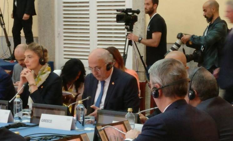 Ο Υφυπουργός Εξωτερικών συμμετέχει σήμερα, Τετάρτη 24 Μαΐου 2017 στην Υπουργική «Διάσκεψη για τα θύματα της εθνοτικής και θρησκευτικής βίας στην Μέση Ανατολή»