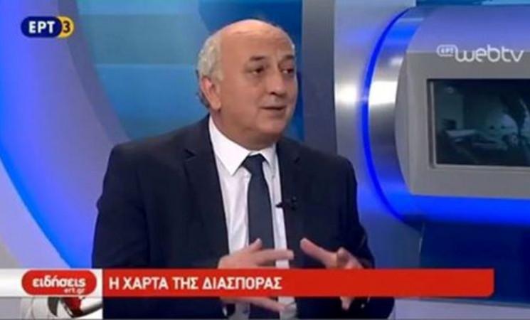 Ο Υφυπουργός Εξωτερικών Γιάννης Αμανατίδης στην ΕΡΤ3 14 Ιουνίου 2017