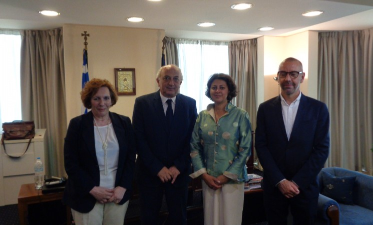 Συνάντηση Υφυπουργού Εξωτερικών, Γιάννη Αμανατίδη με την Περιφερειακή Διευθύντρια και Ειδική Συντονίστρια της UNICEF για την Προσφυγική και Μεταναστευτική Κρίση στην Ευρώπη, κα Afshan Khan