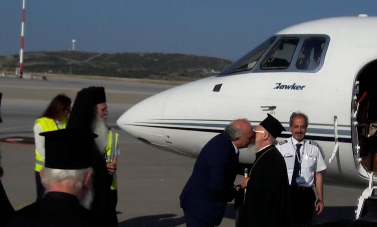 Εκπροσωπώντας την Κυβέρνηση στην υποδοχή του Οικουμενικού Πατριάρχη, κ.κ. Βαρθολομαίου,  στην Αθήνα. #mfa