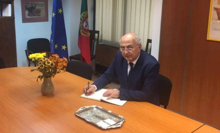 Συλλυπητήριο μήνυμα στην Πρεσβεία της Πορτογαλίας στην Ελλάδα