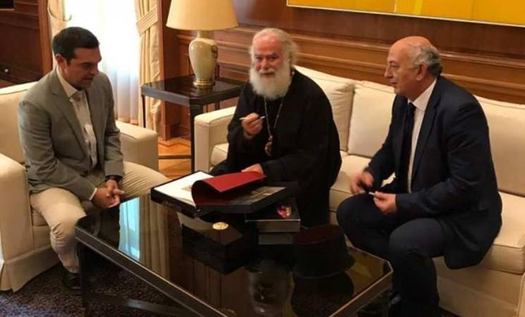 Συνάντηση του Πρωθυπουργού, Αλέξη Τσίπρα με τον Πατριάρχη Αλεξάνδρειας.