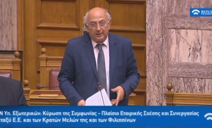 Αμανατίδης προς Χ.Αυγή «Αυτοί που άνοιξαν όχι κερκόπορτα, αλλά την πόρτα για την προδοσία της Κύπρου είναι οι τελευταίοι που μπορούν να μιλούν για στάσεις, ειδικά του Υπουργού Εξωτερικών του κ. Κοτζιά»