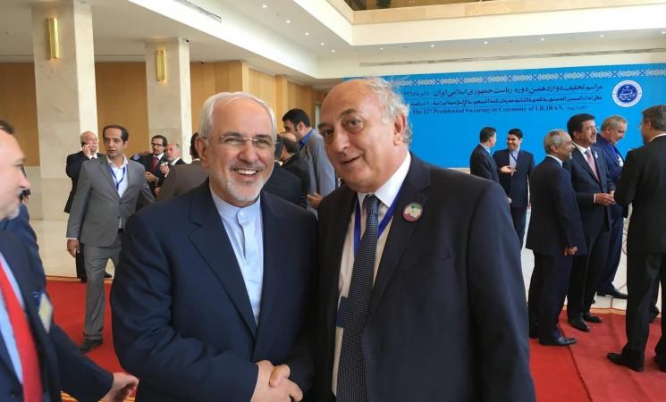 Συμμετοχή Υφυπουργού Εξωτερικών, Γιάννη Αμανατίδη στην τελετή ορκωμοσίας του Προέδρου της Ισλαμικής Δημοκρατίας του Ιράν, Dr Hassan Rouhani. #mfa