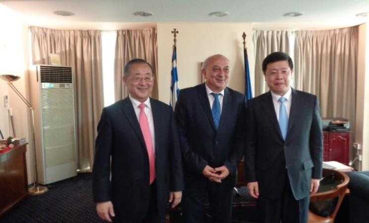 Συνάντηση Υφυπουργού Εξωτερικών, Γιάννη Αμανατίδη με τον Qian Tang, Αναπληρωτή Γενικό Διευθυντή της UNESCO