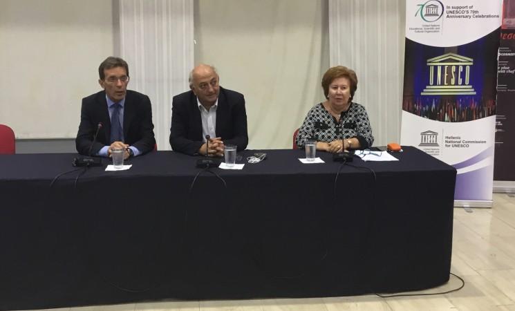 Παρουσία της Ελληνικής Εθνικής Επιτροπής για την UNESCΟ στην 82η ΔΕΘ