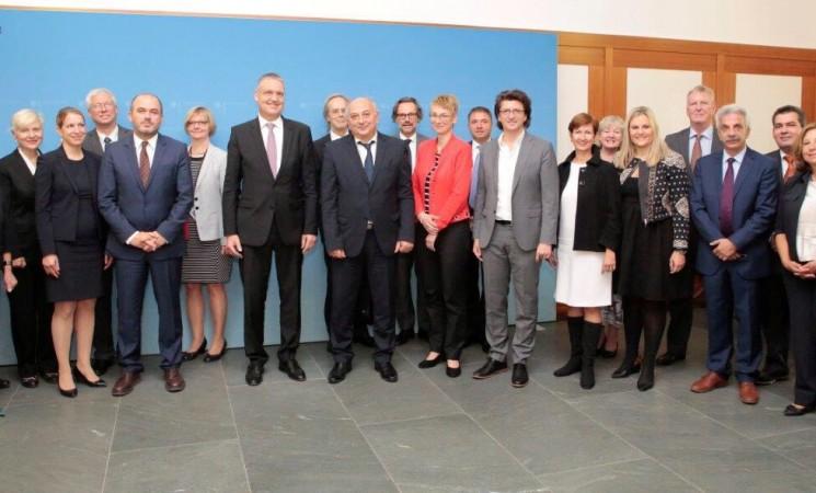 Αμανατίδης: «Η Ελλάδα και η Γερμανία εργάζονται για να ενισχύσουν τη θετική προοπτική που έχει σημειωθεί στην ελληνική πραγματική οικονομία»