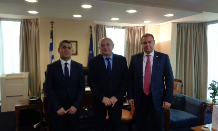 Συνάντηση Υφυπουργού Εξωτερικών, Γιάννη Αμανατίδη με τον Γενικό Γραμματέα του Υπουργείου Εξωτερικών της Αρμενίας κ. Shahen Avakian