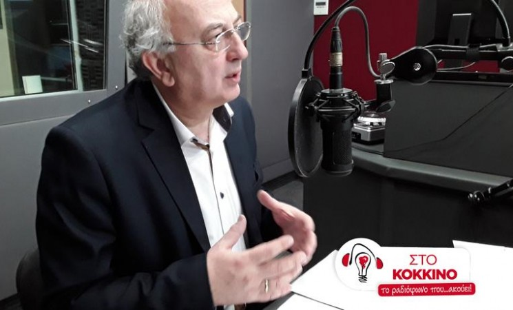 """Ο Υφυπουργός Εξωτερικών Γιάννης Αμανατίδης στο Ραδιοφωνικό Σταθμό """"Στο Κόκκινο"""" - 15 Ιανουαρίου 2018"""