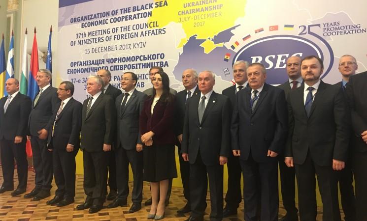 Παρέμβαση του Υφυπουργού Εξωτερικών Γιάννη Αμανατίδη στην 37η σύνοδο συμβουλίου Υπουργών Εξωτερικών κρατών μελών του ΟΣΕΠ (Οργανισμός συνεργασίας Ευξείνου Πόντου).
