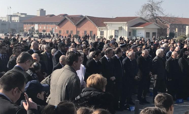 Στην Εκδήλωση για την Εθνική Ημέρα Μνήμης των θυμάτων του Ολοκαυτώματος στην Θεσσαλονίκη