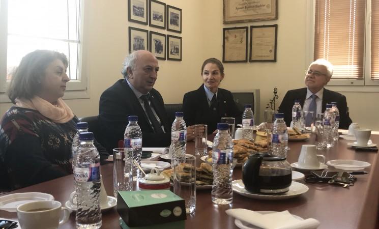Συνάντηση του Υφυπουργού Εξωτερικών κ. Ιωάννη Αμανατίδη με την Πρόεδρο και το Διοικητικό Συμβούλιο του Περιφερειακού Τμήματος Ελληνικού Ερυθρού Σταυρού Θεσσαλονίκης