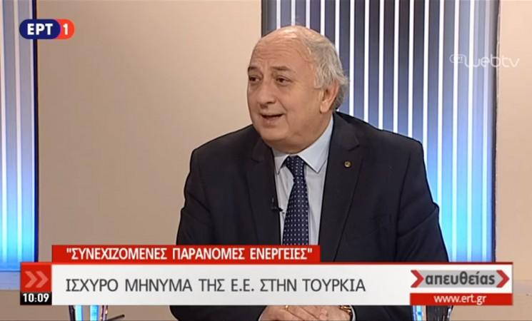 Ο Υφυπουργός Εξωτερικών Γιάννης Αμανατίδης στην ΕΡΤ1 - 23 Μαρτίου 2018