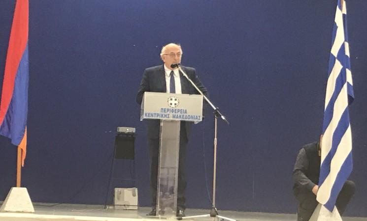 Χαιρετισμός του Υφυπουργού κ. Ιωάννη Αμανατίδη στην 103η επέτειο της Γενοκτονίας των Αρμενίων