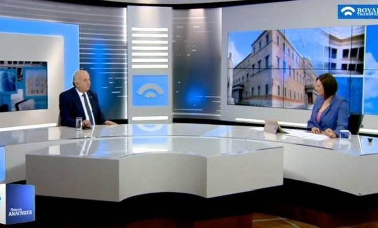 Ο Υφυπουργός Εξωτερικών Γιάννης Αμανατίδης στην Πρωινή Ανάγνωση του καναλιού της Βουλής