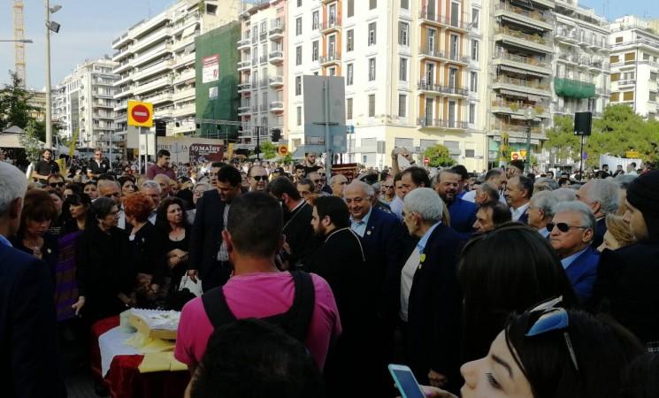 Στις εκδηλώσεις μνήμης για τη γενοκτονία των Ελλήνων του Πόντου στη Θεσσαλονίκη