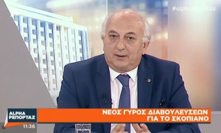 Ο Υφυπουργός Εξωτερικών Γιάννης Αμανατίδης στην Τηλεόραση του Alpha - 22 Μαΐου 2018