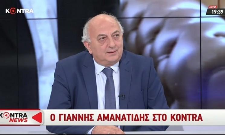 Ο Υφυπουργός Εξωτερικών Γιάννης Αμανατίδης στο Kontra - 12 Ιουνίου 2018