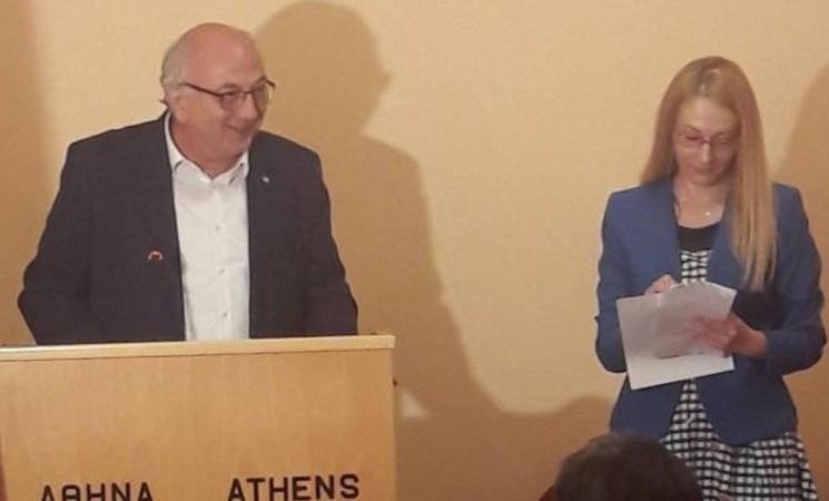 Χαιρετισμός Υφυπουργού Εξωτερικών Γιάννη Αμανατίδη στα εγκαίνια λειτουργίας του Γραφείου του Παγκόσμιου Οργανισμού Υγείας στην Αθήνα